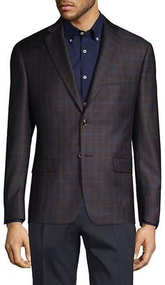 Robert Graham Plaid Wool Sportcoat