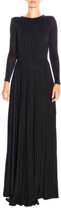 Elisabetta Franchi Celyn B. Dress Long Dress In Lurex Fabric With Chain