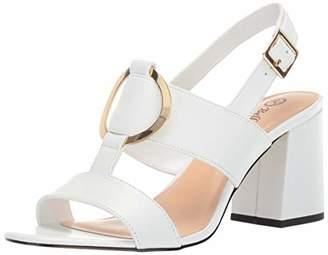 Bella Vita Women's Tanya Slingback Sandal with Metal Ornament Shoe