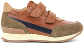 10 IS Suede Leather Velcro Ten Jog Trainers