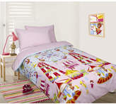 Fun At The Fair Pink Glow in the Dark Quilt Cover Set