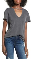 BP Women's Cutout Plunge Tee