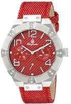 Burgmeister Women's BM611-144 Analog Display Quartz Red Watch