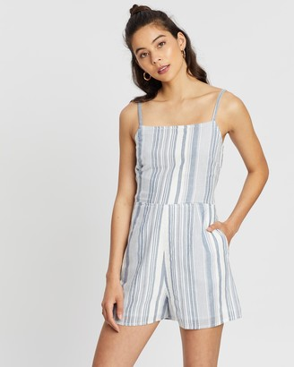 All About Eve Emeile Stripe Playsuit