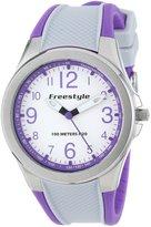 Freestyle Women's 101982 Sport Round Analog Strap Purple Watch