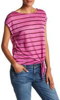 Tommy Bahama Linnea Stripe Side Tie Tee