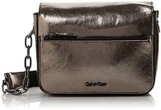 Calvin Klein Night Out Small Shoulder Bag Metalic, Women's Cross-Body Bag,7x15x21 cm (B x H T)