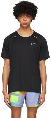 Nike Black Rise 365 T-Shirt