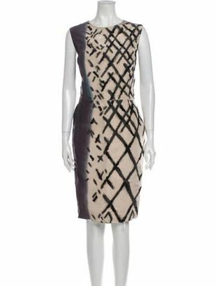 Oscar de la Renta 2011 Knee-Length Dress