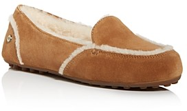 UGG Women's Hailey Leather Loafers