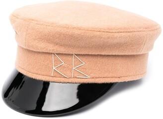 Ruslan Baginskiy Logo-Print Baker Boy Cap