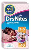 Huggies 3-5 years DryNites for Girls 10 per pack - Pack of 4