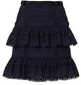 Self-Portrait Hazel Ruffle Mini Skirt
