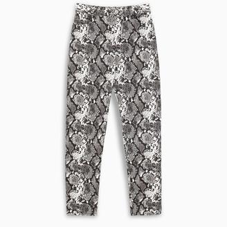 ATTICO Dua python jeans