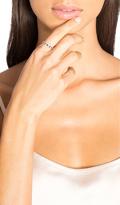 Sachi Sapphire & Diamond Link Ring