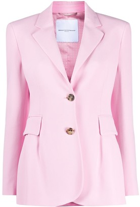 Ermanno Scervino Single-Breasted Slim-Fit Blazer