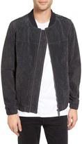 NATIVE YOUTH Men's Calder Leather Bomber Jacket