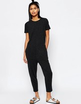 Asos T-Shirt Jersey Jumpsuit with Peg Leg