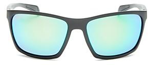 Maui Jim Men's Makoa Polarized Wraparound Sunglasses, 59mm
