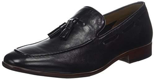 Aldo Men's Zoacien Loafers, (Jet Black 1 Leather)