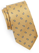 Black Brown 1826 Silk Paisley Tie