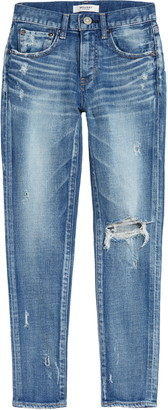 Moussy Helendale Ripped Crop Skinny Jeans