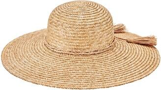 San Diego Hat Straw Hat with Braid Trim