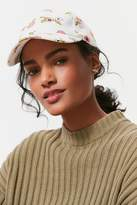 Urban Outfitters Printed Canvas Baseball Hat