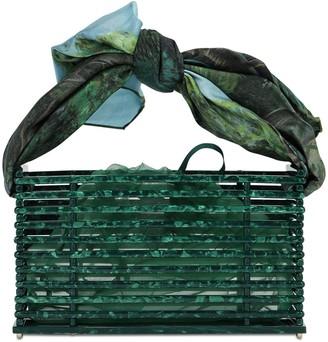 Montunas Vanda Acetate Shoulder Bag W/ Jade Rope