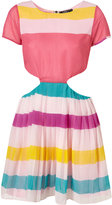 Candy Stripe Cut Out Dress by Rare**