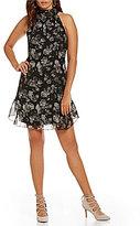 M.S.S.P. Tie Back Floral Flounce Dress