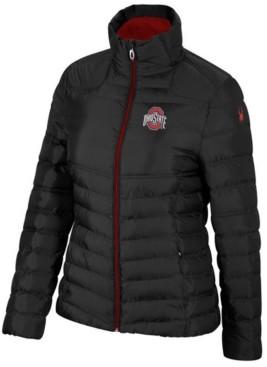 Lids Spyder Women's Ohio State Buckeyes Supreme Puffer Jacket