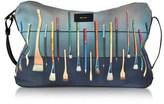 Paul Smith Men's Multicolor Canvas Messenger Bag.