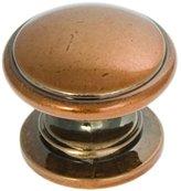 Hickory Hardware Belwith P3053-ARG 1.25 Inch Knob Antique Knob
