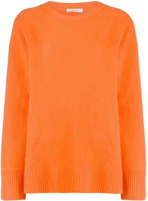The Row Oversized Crew Neck Jumper