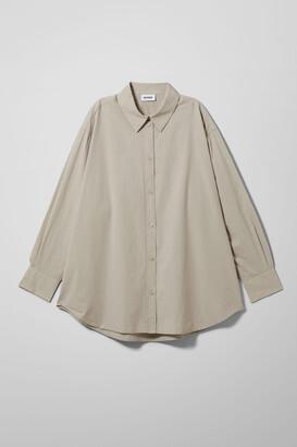Weekday Edyn Shirt - White