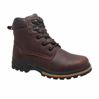 """AdTec Ad Tec Men's 6"""" Work Boots Oiled Leather"""