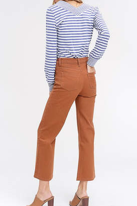 Listicle Wide Leg Capri Pants