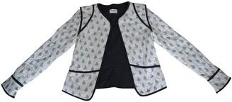 Polder White Cotton Jacket for Women