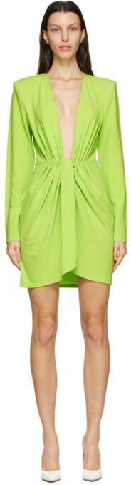 GAUGE81 Green Krasnodar Short Dress