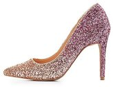 Charlotte Russe Glitter Pointed Toe Pumps