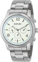 August Steiner Men's AS8098SS Analog Display Swiss Quartz Silver Watch
