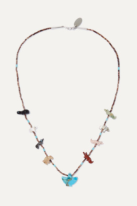 Jessie Western Power Animal Multi-stone Necklace - Turquoise