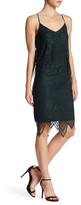 Trixxi Scallop Lace Popover Dress