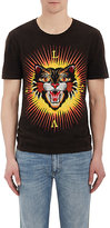 Gucci Men's Tiger-Patch Cotton Jersey T-Shirt