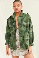 Urban Renewal Vintage Camo Military Jacket