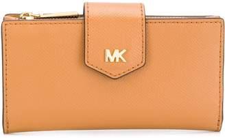 MICHAEL Michael Kors textured snap wallet