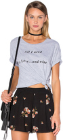 Amuse Society Blab Out Loud Tee