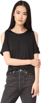 Paige Alessa Cold Shoulder Tee