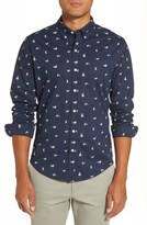 Bonobos Men's Summerweight Slim Fit Banana Sport Shirt